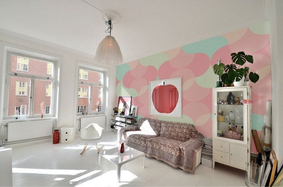 Living room decorating ideas with pastel colors for summer for Color designs for living room