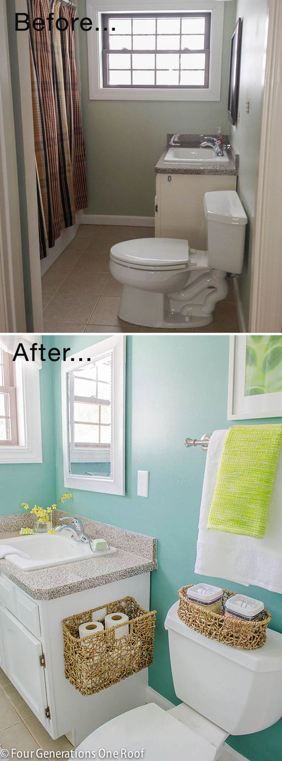 unique bathroom makeover