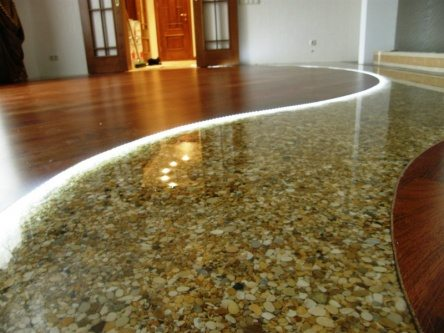 unique epoxy garage flooring