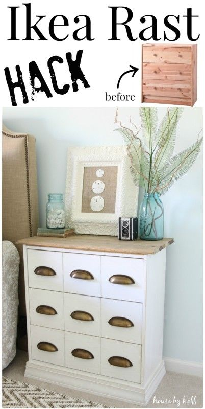 10 stylish bedside table designs that fit in modern - Relooker une commode ikea ...