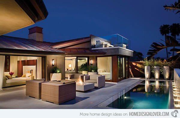 Modern small backyard pool ideas