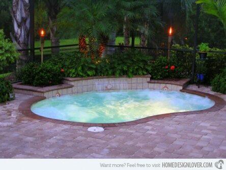 backyard small pools design