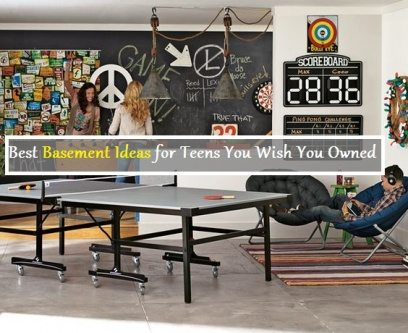 Basement design for teens