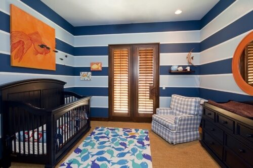 Blue boy nursery