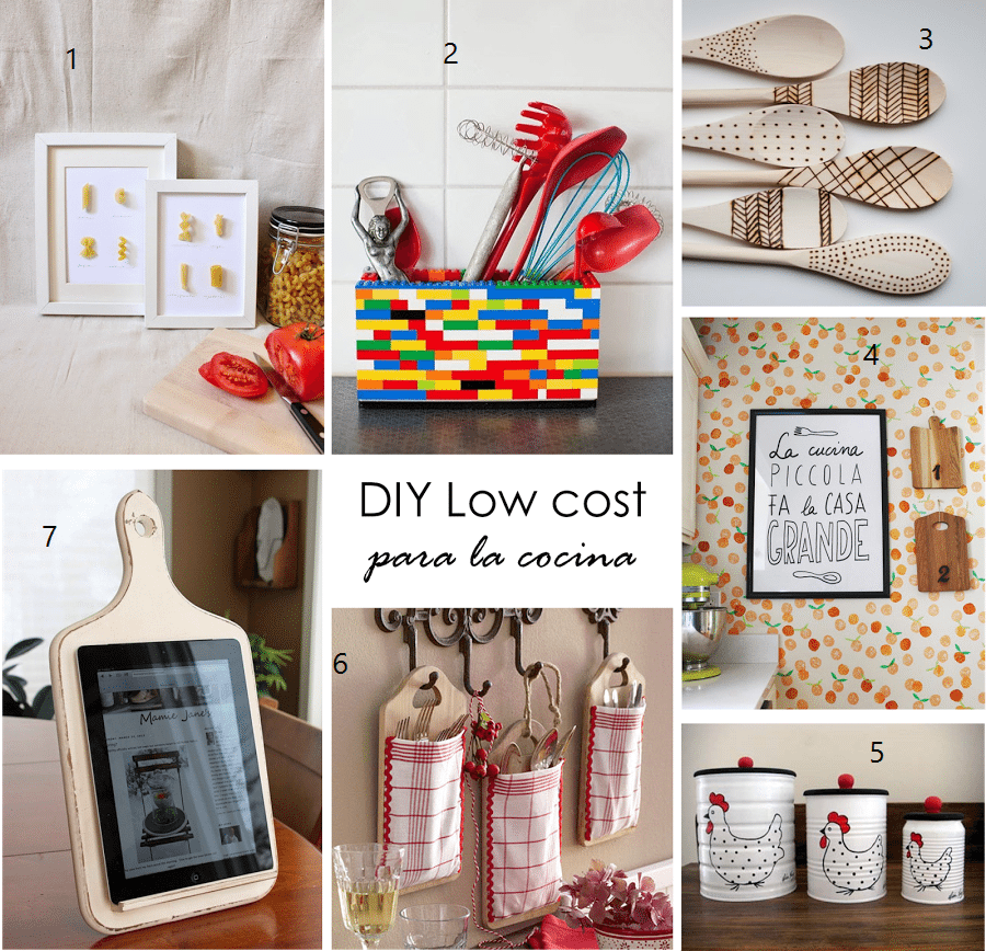 8 diy kitchen decor ideas do it yourself as expert for Simple diy kitchen ideas