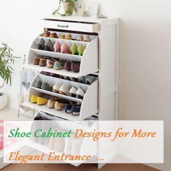 Shoe cabinet storage