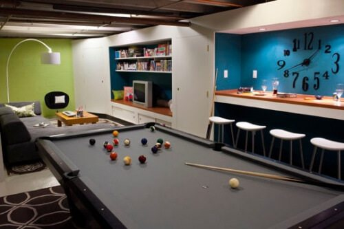 Teens Basement Ideas