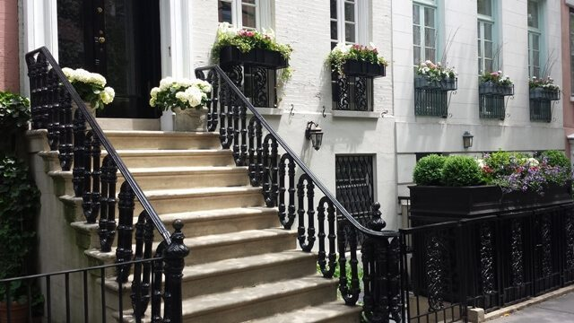 Landscaping for Townhouses outdoor