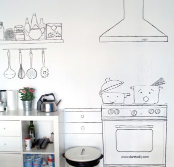 Unique Kitchen decoration ideas