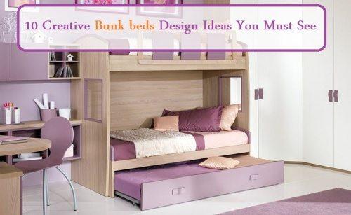bunk beds design