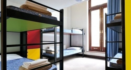 chic youth hostel
