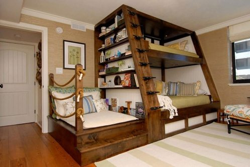 classic wooden kids beds