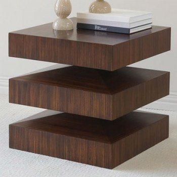 Wood night table