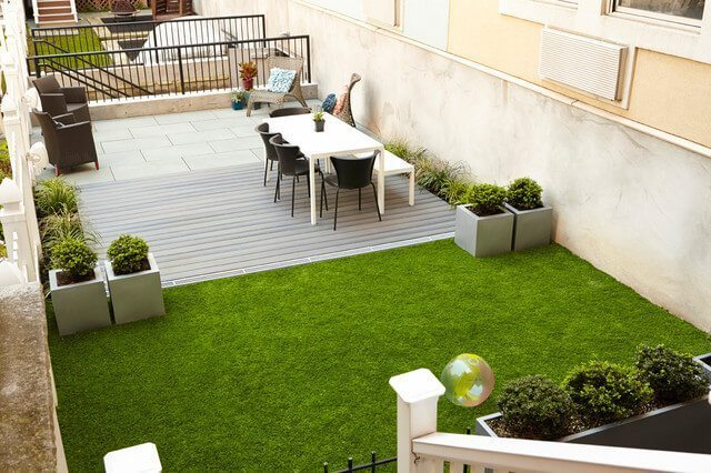 Townhouse outdoor design