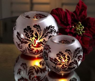 glass candle ideas