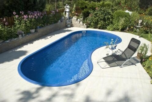 small in-ground pool ideas for backyard