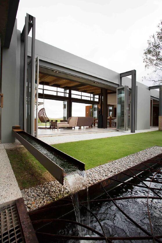 luxury town house design