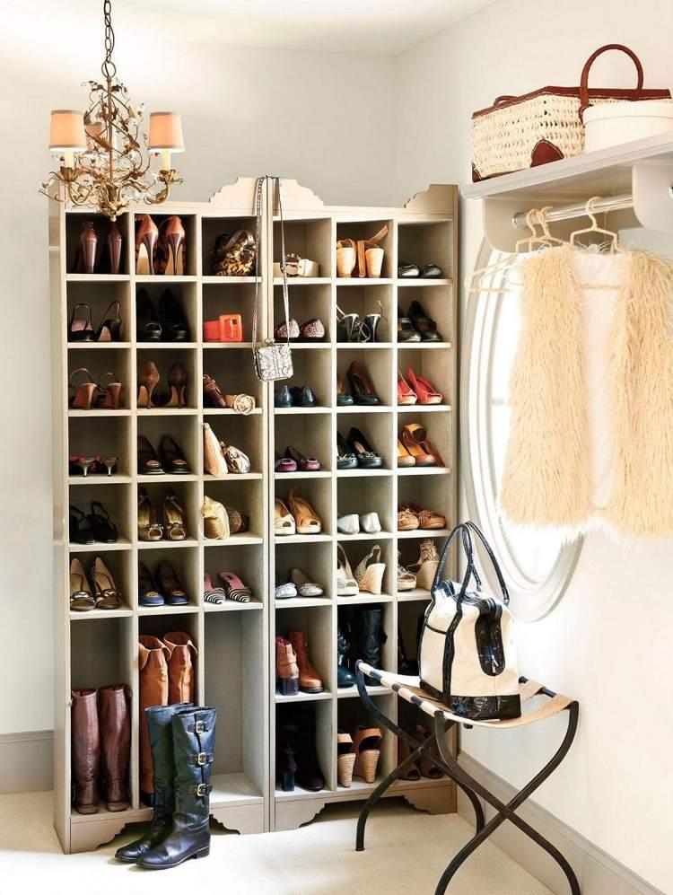 modern Shoe closet designs
