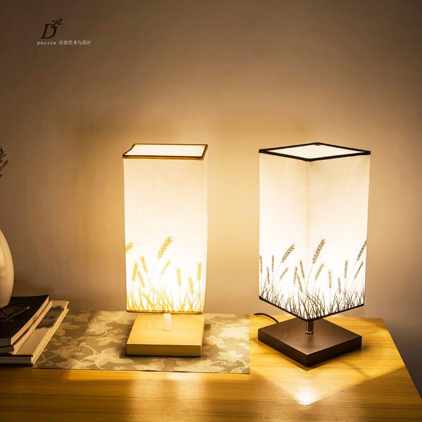 bright nightstand lamp