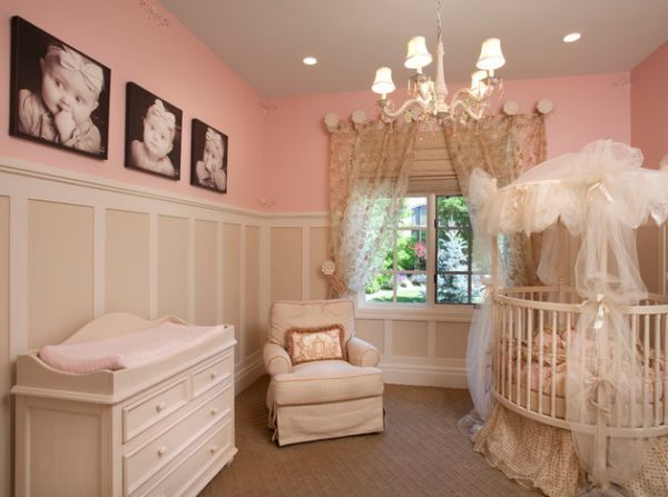 10 round baby cribs furniture for a cosy nursery for Baby cribs decoration