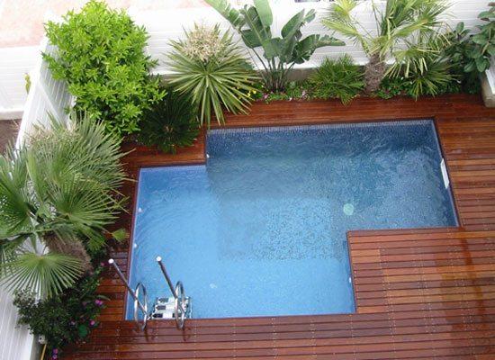custom-shape small pools