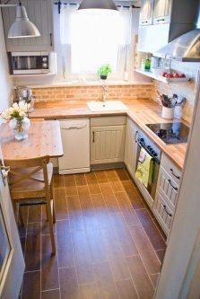 small kitchen planning