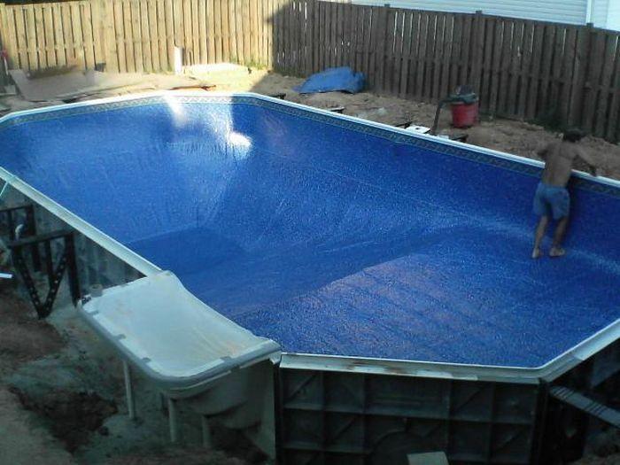 Как самому сделать бассейн в доме