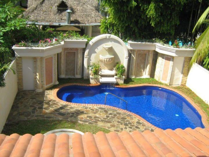 Backyard Pool Designs For Small Yards Gallery Home