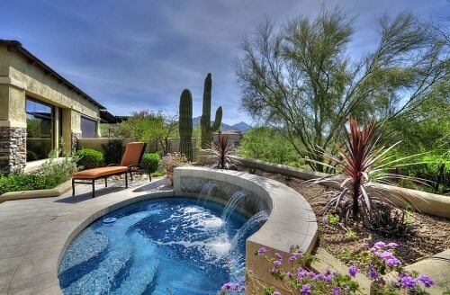 swimming pool for small backyard spaces