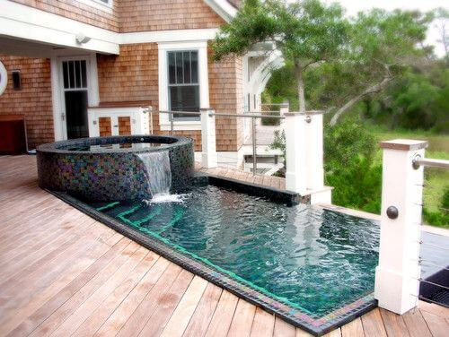 backyard small pools
