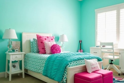 turquoise wall color ideas