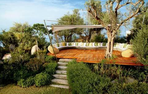 backyard meditation room
