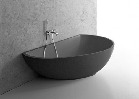 wall side bathtubs