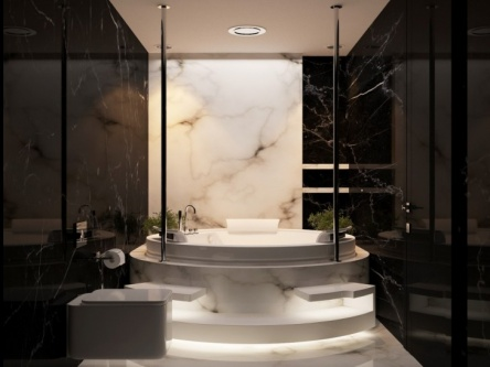 curve bathtub design