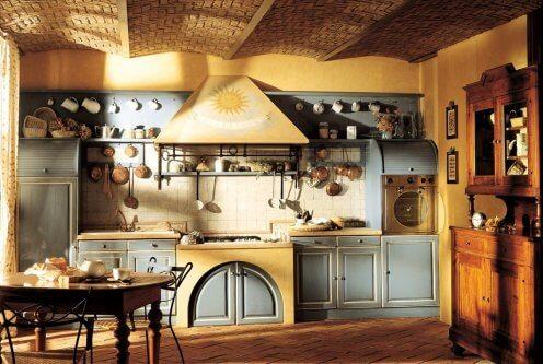 farmhouse style kitchen rustic decor