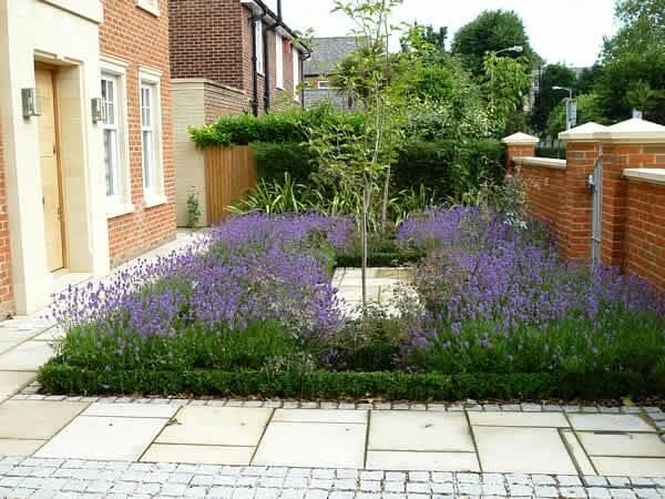 front yard floral design