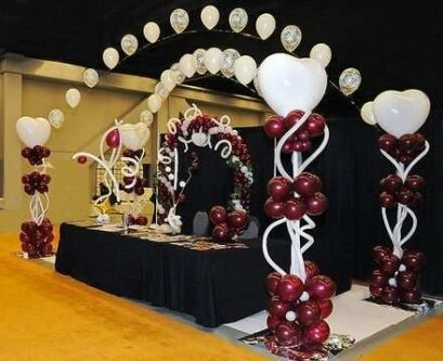 graduation decorations for party main table