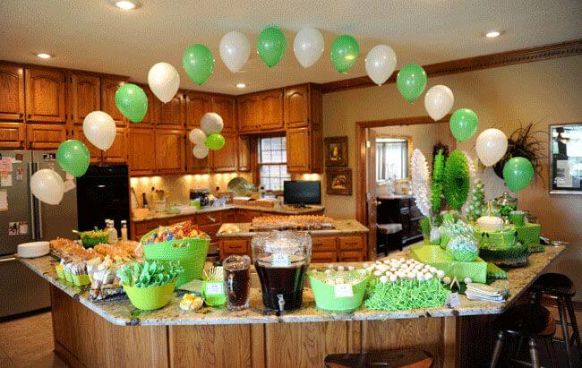 40 graduation party ideas grad decorations decoration y for Birthday decoration ideas at home with balloons