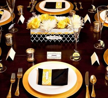 graduation party table centerpieces & table decorations