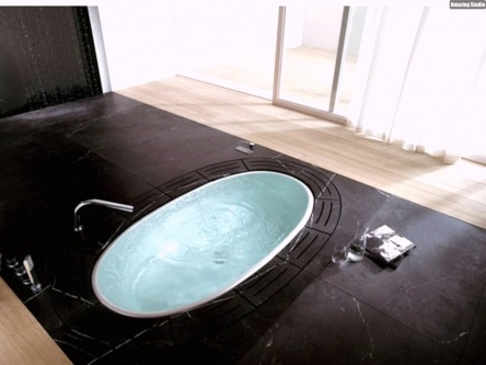 inground bathtub design