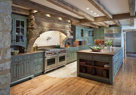 luxury farmhouse kitchen style & decor