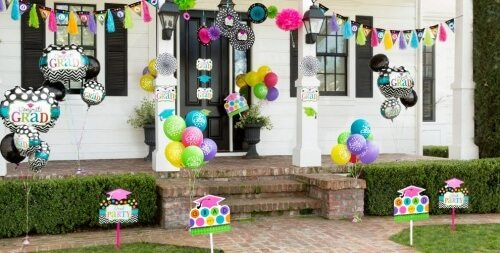 outdoor graduation party decorations & ideas