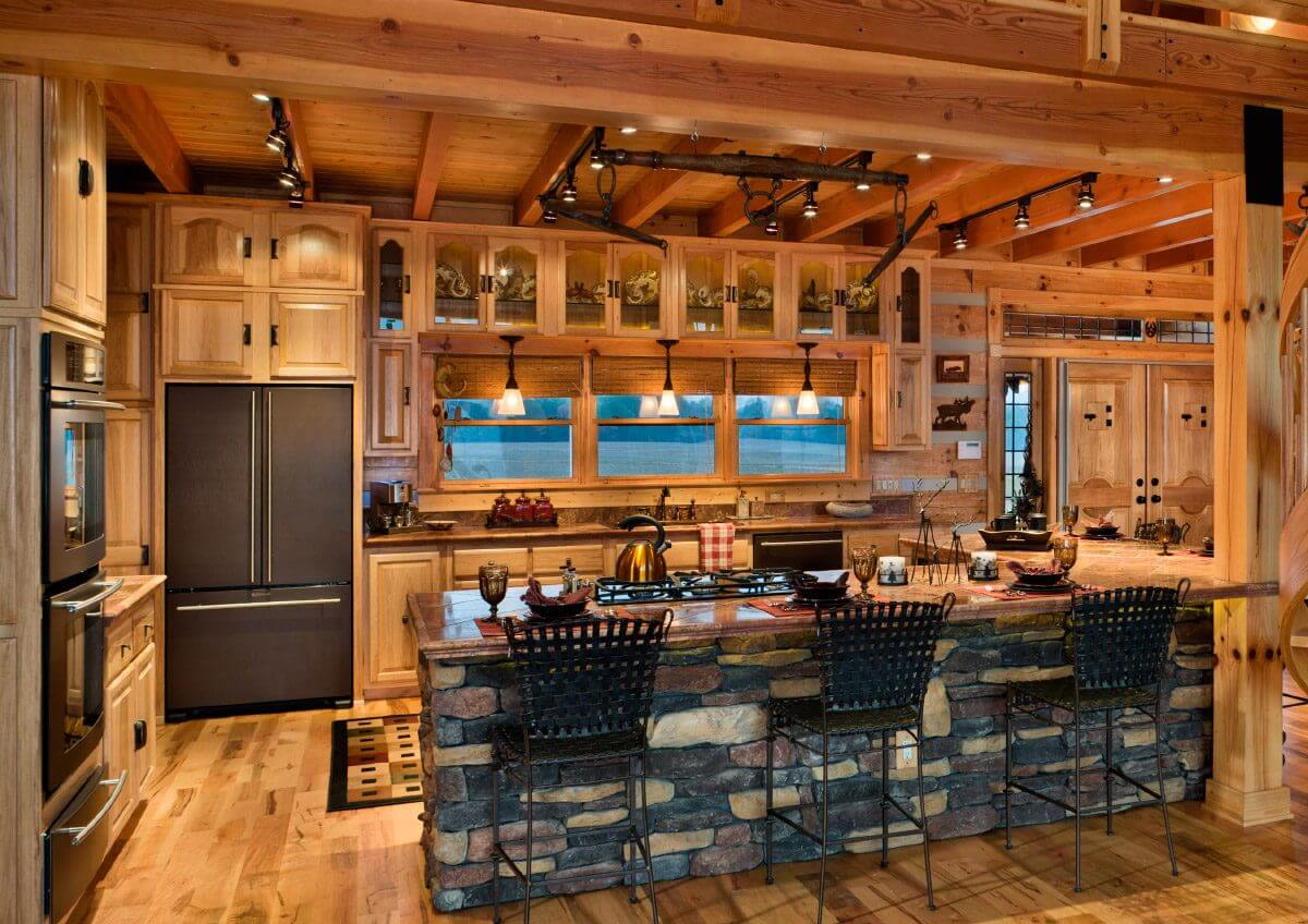 Farmhouse style kitchen rustic decor ideas kitchen for Kitchen decoration