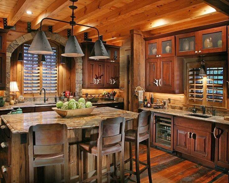Farmhouse Style Kitchen Rustic Decor Ideas Kitchen