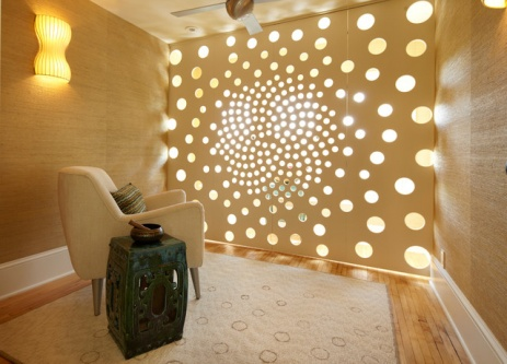 small meditation space room