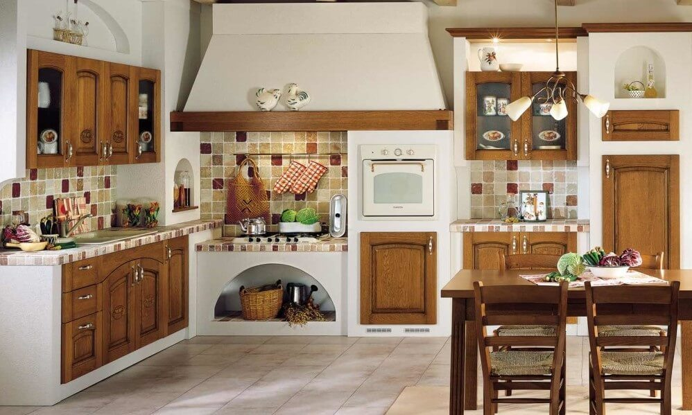 Farmhouse style kitchen rustic decor ideas kitchen for Farm style kitchen decor