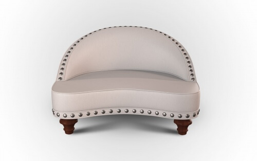 white meditation chair