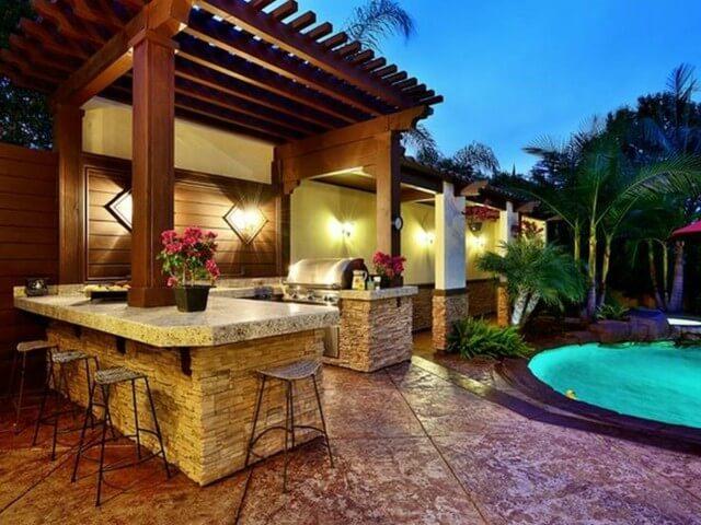Best outdoor kitchen design & decoration ideas