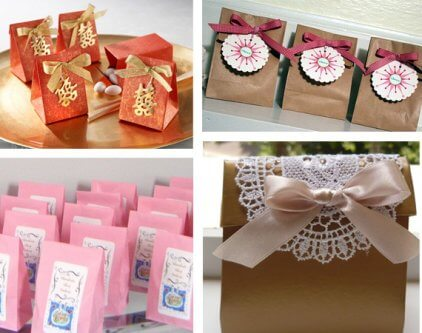 Wedding favor ideas you can Do it yourself