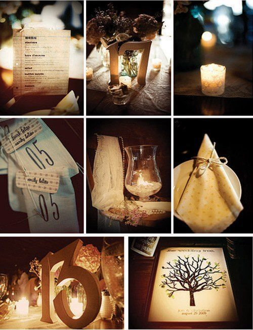 Wedding Reception Decorations Ideas Diy : diy wedding ideas 15 DIY Wedding Ideas - Wedding Decorations